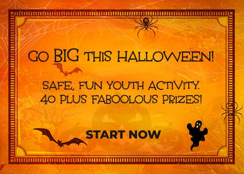 Go BIG this Halloween!